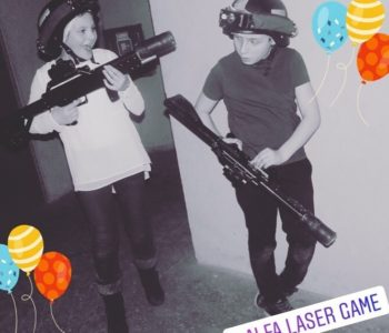 Laserowy sylwester dla dzieci 2019