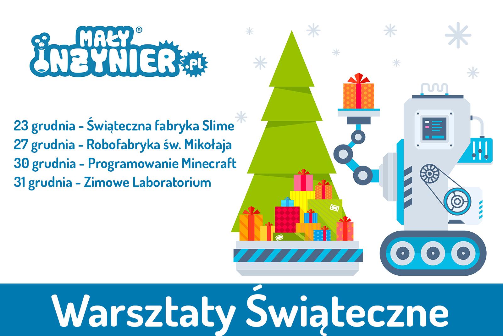 Warsztaty swiateczne 2019 naglowek Poznan