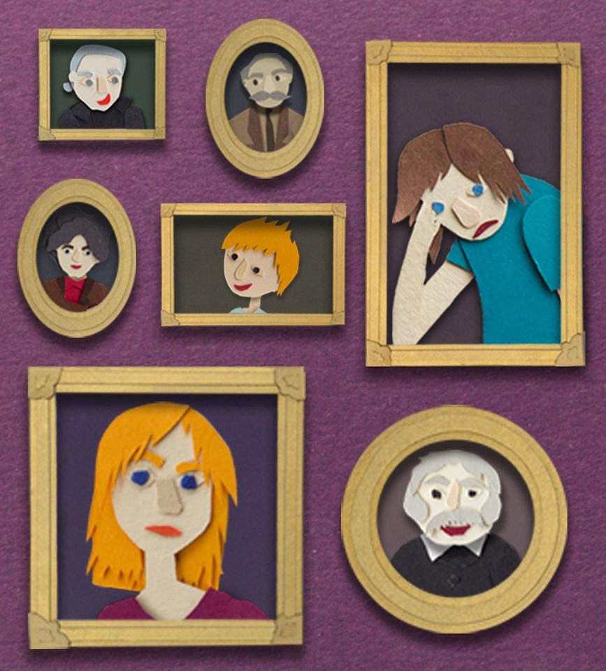 Tajemnicze portrety - warsztaty dla dzieci w wieku 6-9 lat