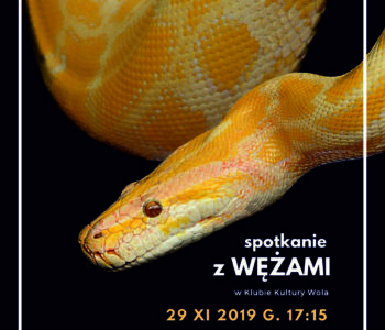 Spotkanie z wężami – lekcje przyrody na żywo w KK Wola