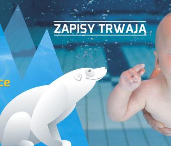 Zajęcia na basenie dla niemowląt – zapisy trwają!
