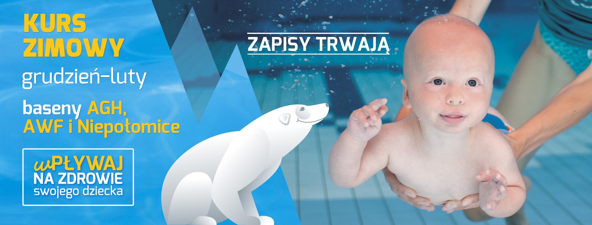 Zajęcia na basenie dla niemowląt - zapisy trwają!