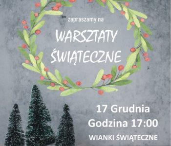 Warsztaty świąteczne. Dąbrowa Górnicza