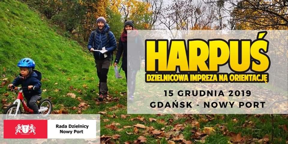 Harpuś - z mapą do Nowego Portu