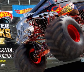 Hot Wheels Monster Trucks Live 2020 European Tour już w styczniu w Łodzi!