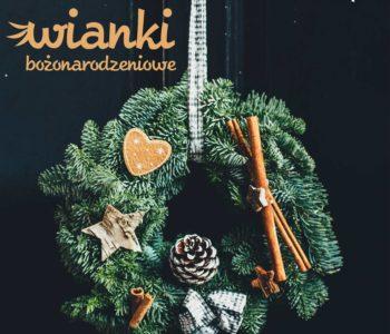 Bożonarodzeniowe wianki – warsztaty. Dąbrowa Górnicza