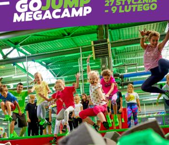 GOjump MEGACamp – zajęcia w ferie
