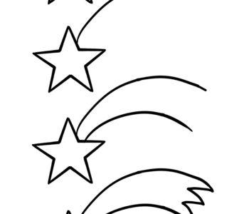 Jak narysować gwiazdę betlejemską. Szablony rysowania na Boże Narodzenie do druku
