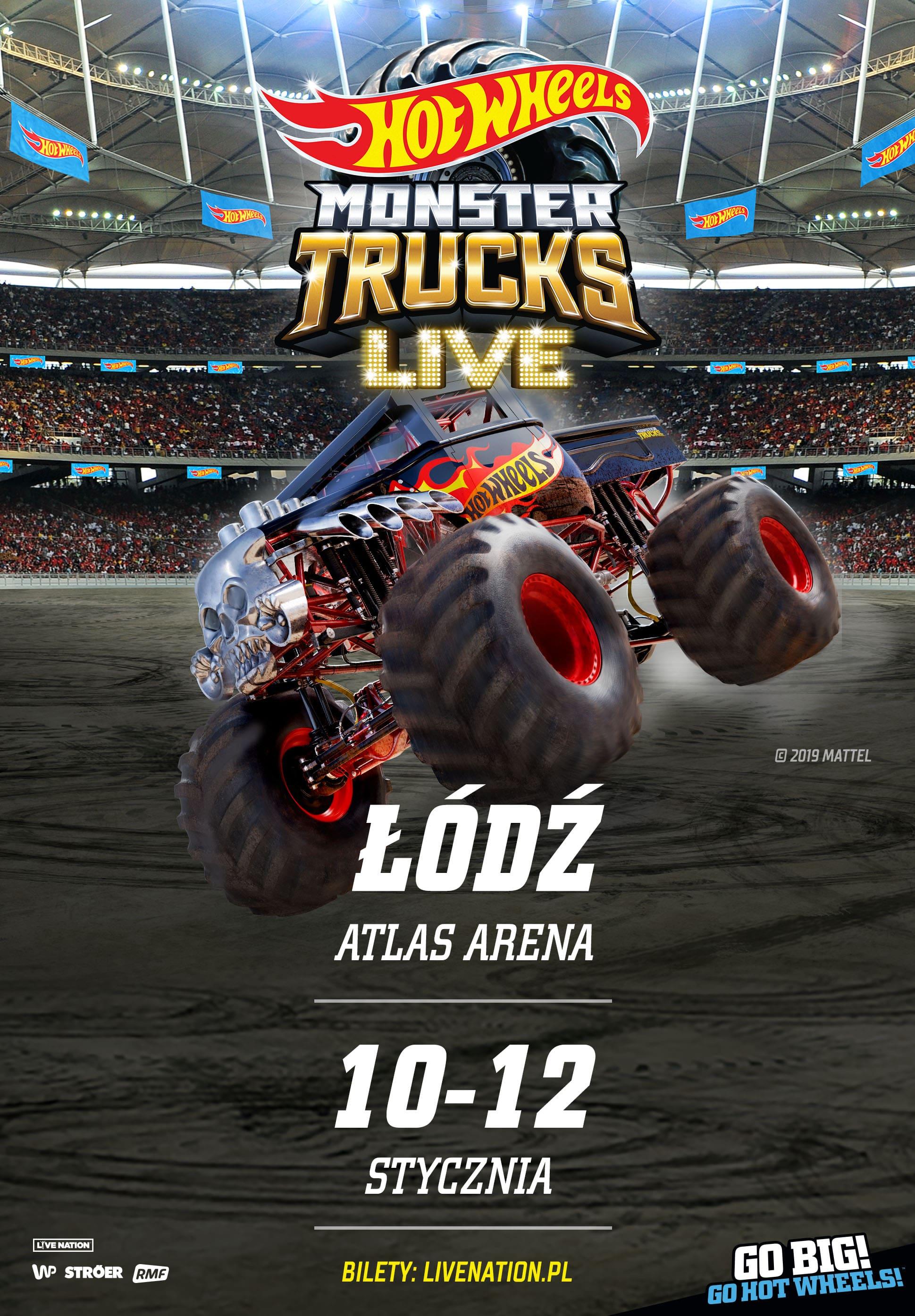 Hot Wheels Monster Trucks Live 2020 European Tour
