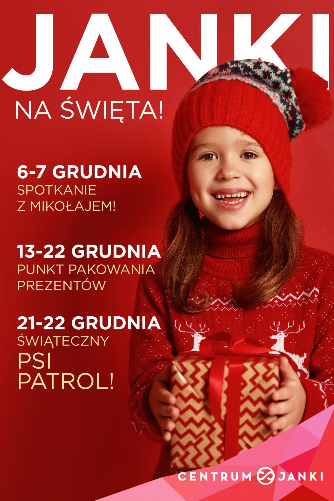 Spotkanie z Mikołajem w Centrum Janki