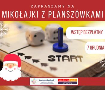 Centrum Edukacji Migdałowa zaprasza na wspólne Mikołajki!