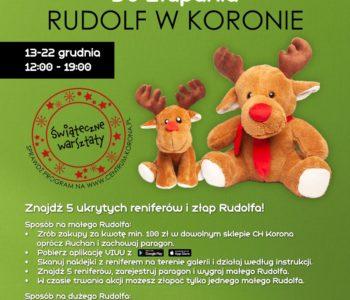 Odbierz pluszowego Rudolfa w podziękowaniu za zakupy w Centrum Korona