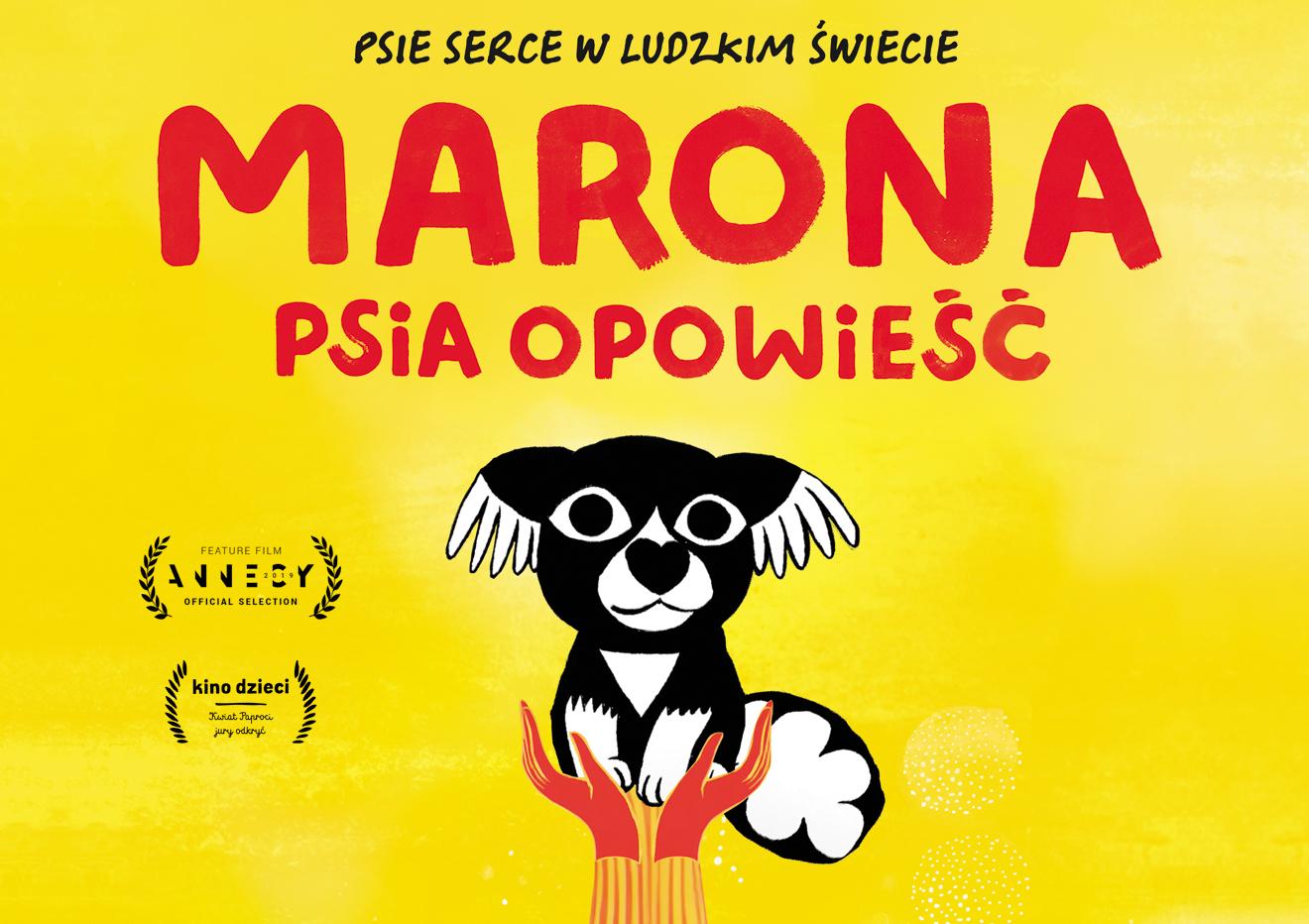 Marona psia opowieść plakat