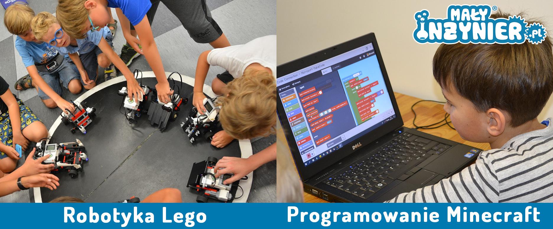miasto dzieci ferie robotyka programowanie