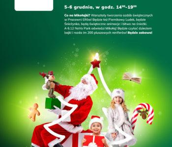 Spotkanie z Mikołajem w NoVa Park