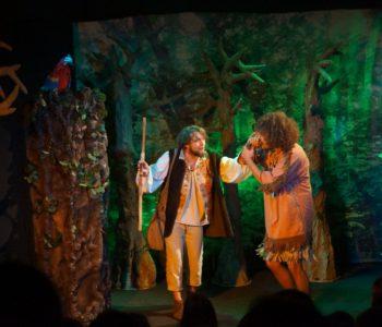 Robinson Crusoe – przedstawienie