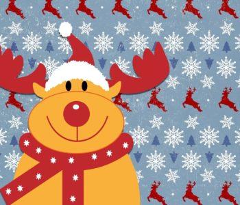 Artystyczne inspiracje - renifer Rudolf