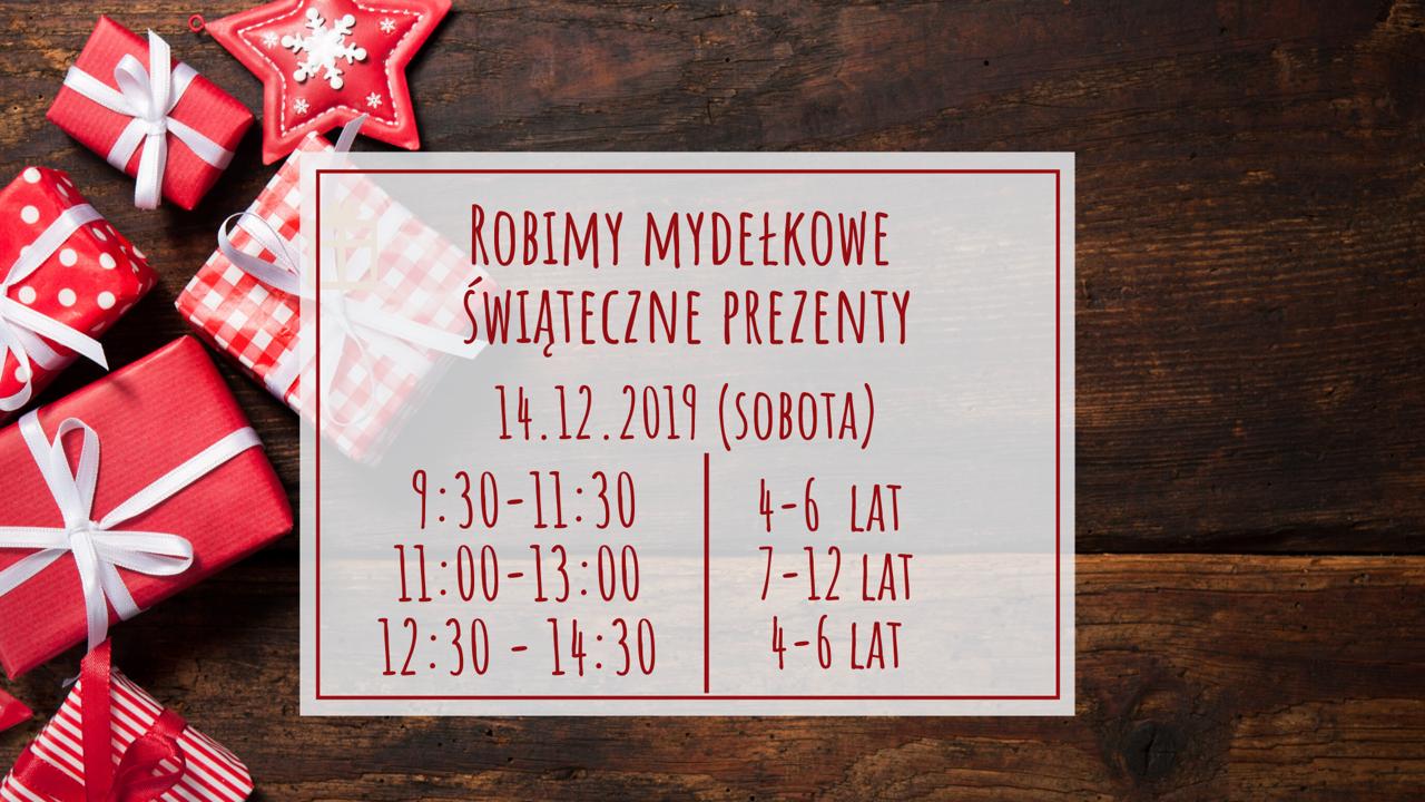 Robimy mydełkowe świąteczne prezenty. Katowice