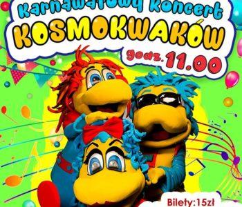 Karnawałowy Koncert Kosmokwaków we Wrocławskim Klubie Anima