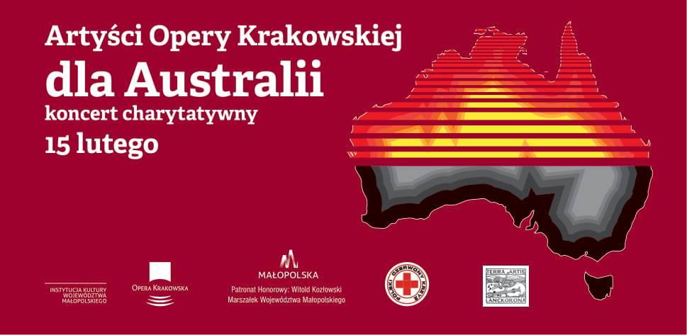 Artyści Opery Krakowskiej dla Australii – specjalny koncert charytatywny