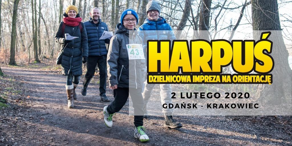 Harpuś - z mapą na Krakowiec!
