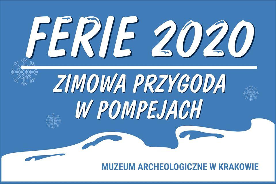 Zimowa przygoda w Pompejachczyliferie zimowe 2020 w Muzeum Archeologicznym