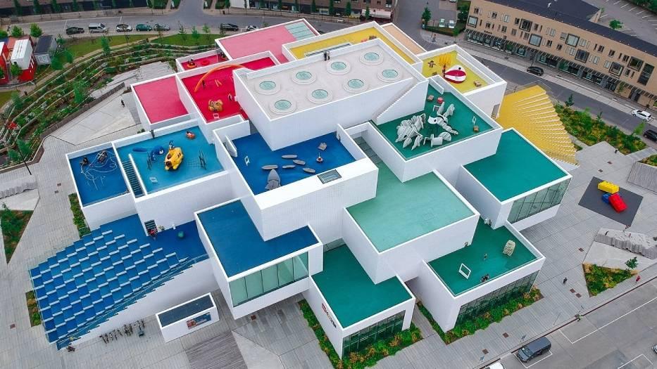 LEGO House Billund atrakcje Dania