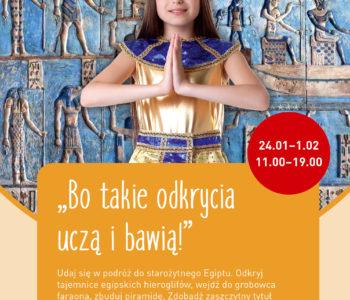 Starożytny Egipt w Alfa Centrum Gdańsk
