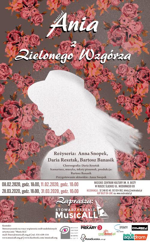 Ania z Zielonego Wzgórza - musical. Ruda Śląska