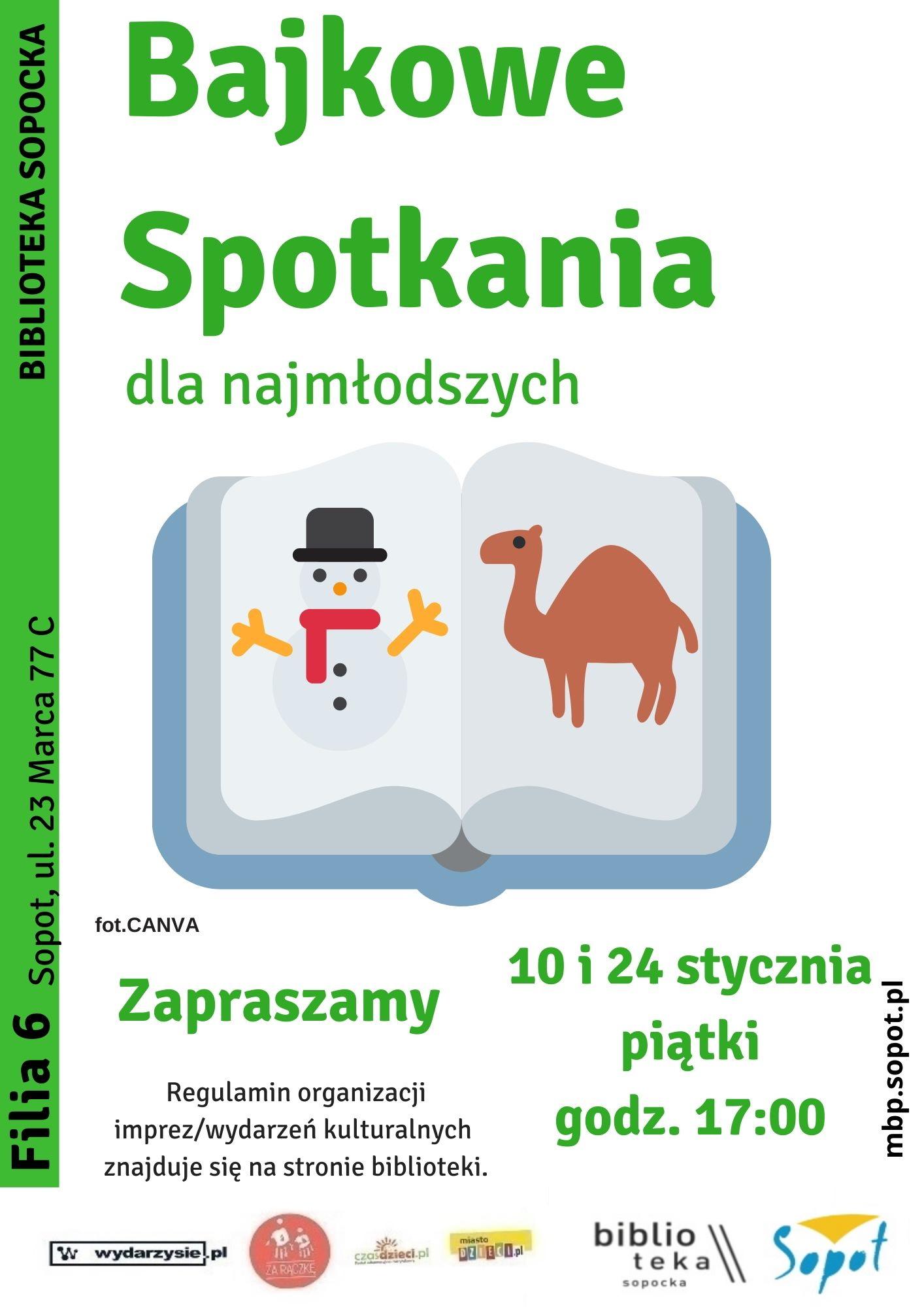 Biblioteka Sopocka: Bajkowe spotkania dla najmłodszych