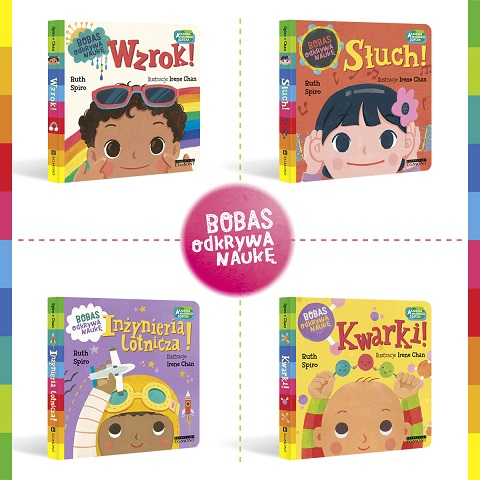 Kolejna odsłona cyklu Akademia Mądrego Dziecka - książeczki edukacyjne