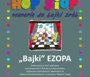 HOP-SIUP - warsztaty teatralno-plastyczne