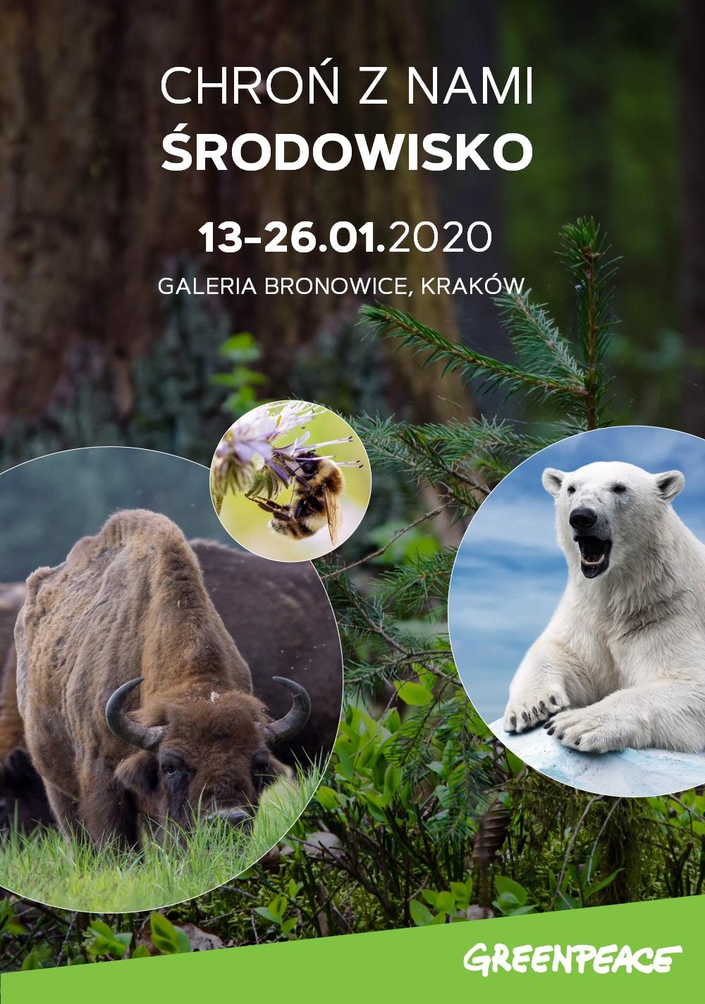 Chroń środowisko naturalne z Galerią Bronowice