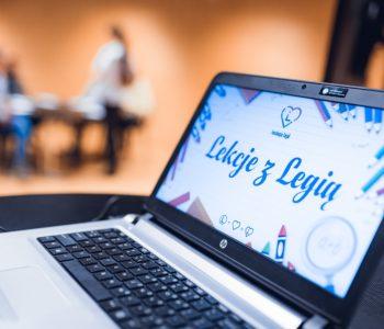 Lekcje z Legią – zajęcia dla dzieci i młodzieży