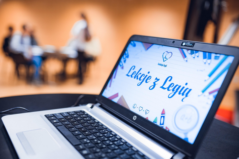 Lekcje z Legią - zajęcia dla dzieci i młodzieży