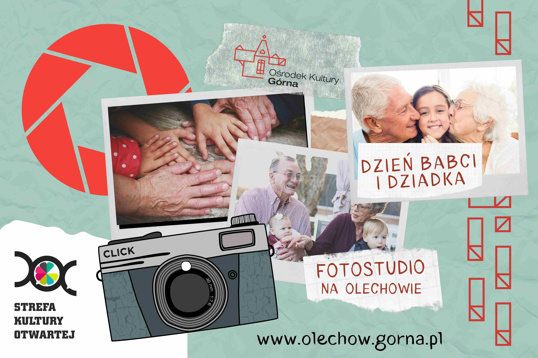 Rodzinne warsztaty fotograficzno-plastyczne z okazji Dnia Babci i Dnia Dziadka