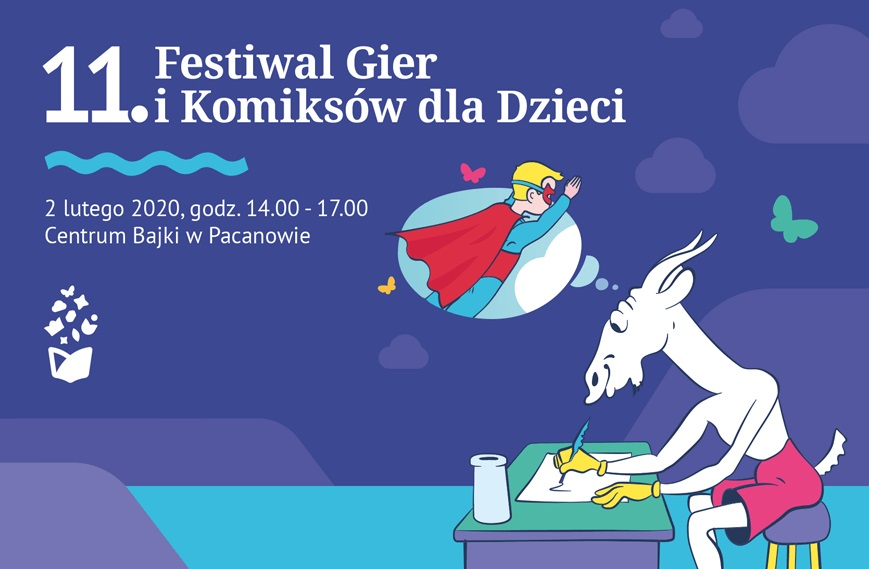 11. Festiwal Gier i Komiksów dla Dzieci w Pacanowie