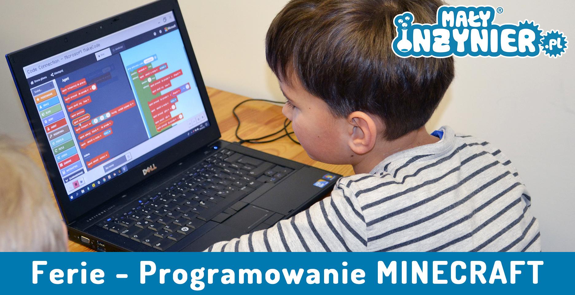 Ferie zimowe – Minecraft