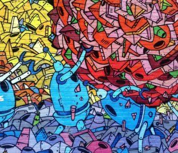 Klub Zielonej Żyrafy – warsztaty Familijne Graffiti. Bytom