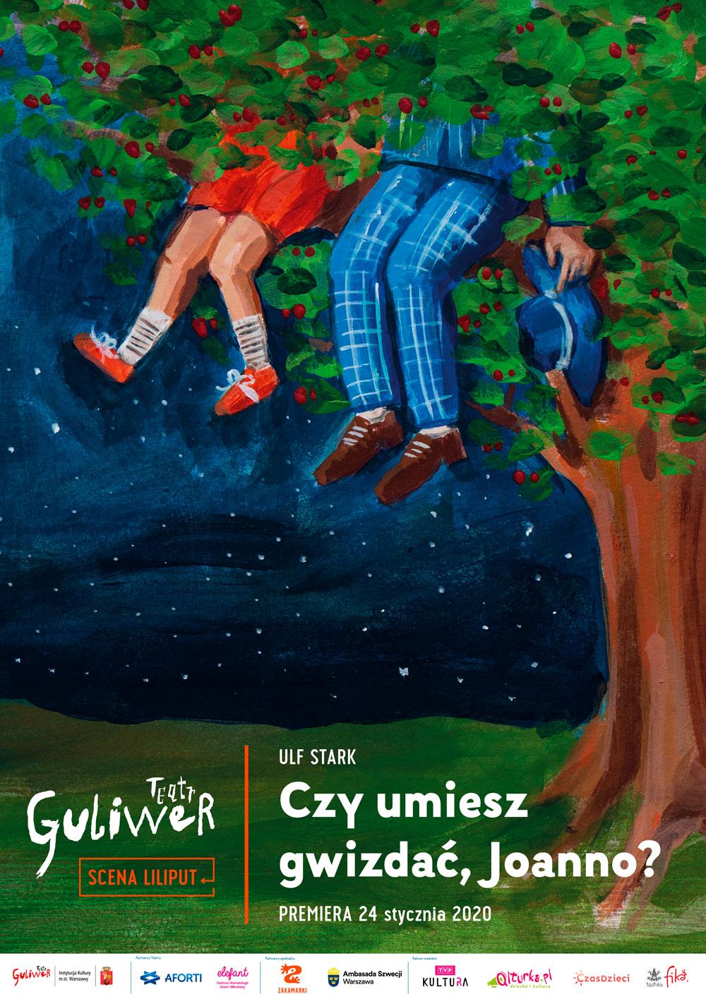 Premiera spektaklu w Teatrze Lalek Guliwer: Czy umiesz gwizdać, Joanno?