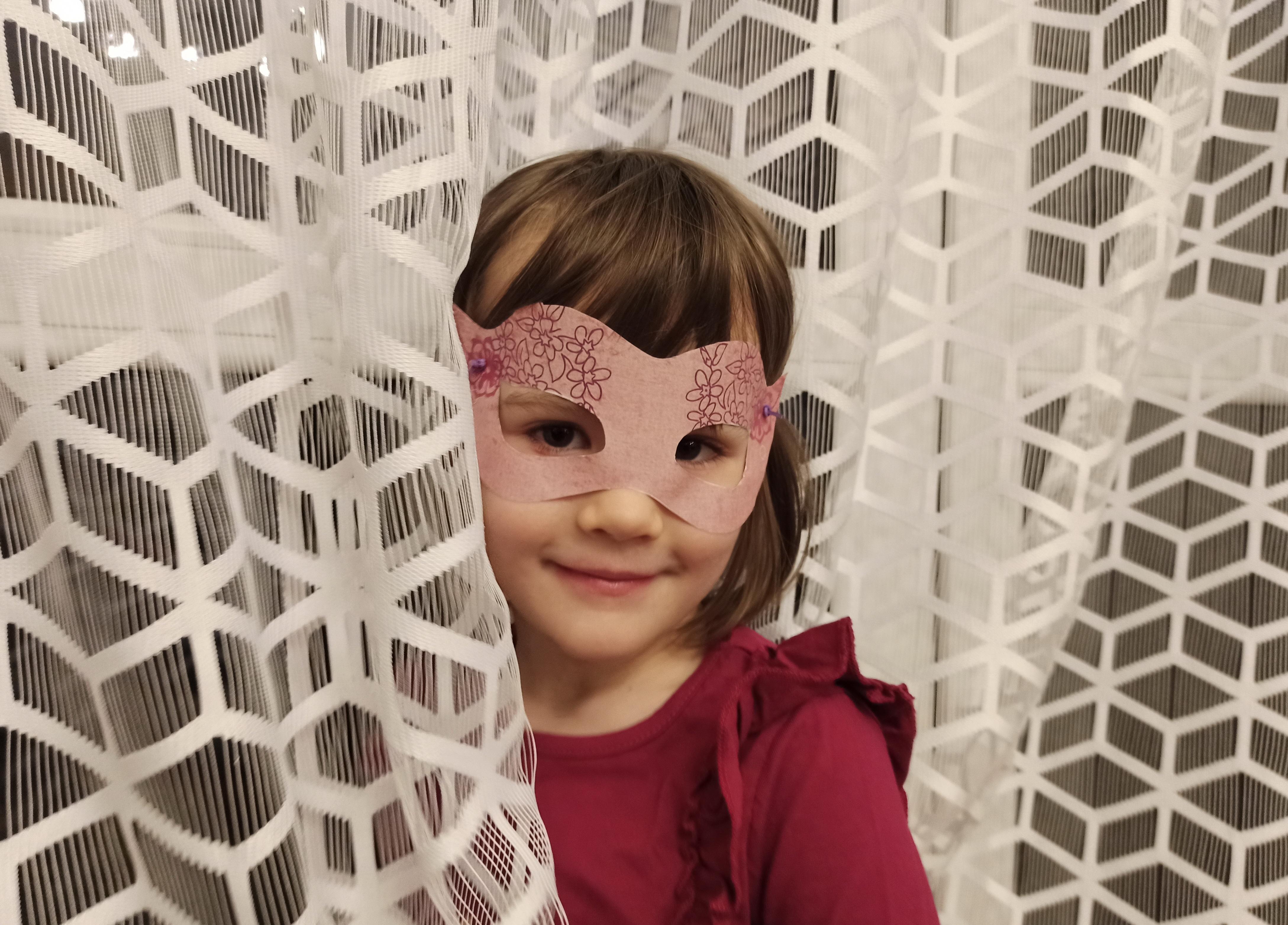 Maski karnawałowe do druku dla dzieci
