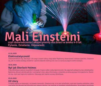 Mali Einsteini: UV story. Warsztaty dla dzieci