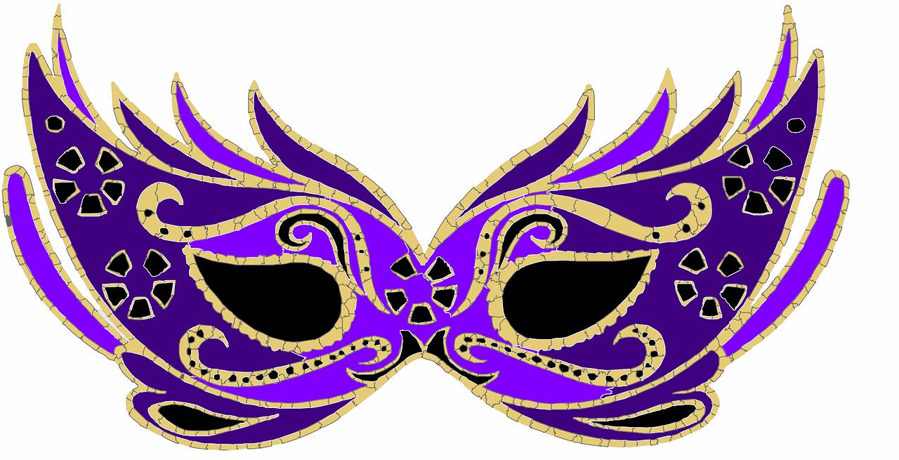 maska karnawałowa dla dzieci do druku