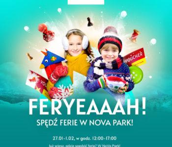 Tydzień atrakcji na ferie zimowe w NoVa Park