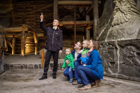 rodzinne zwiedzanie Kopalni Soli w Wieliczce