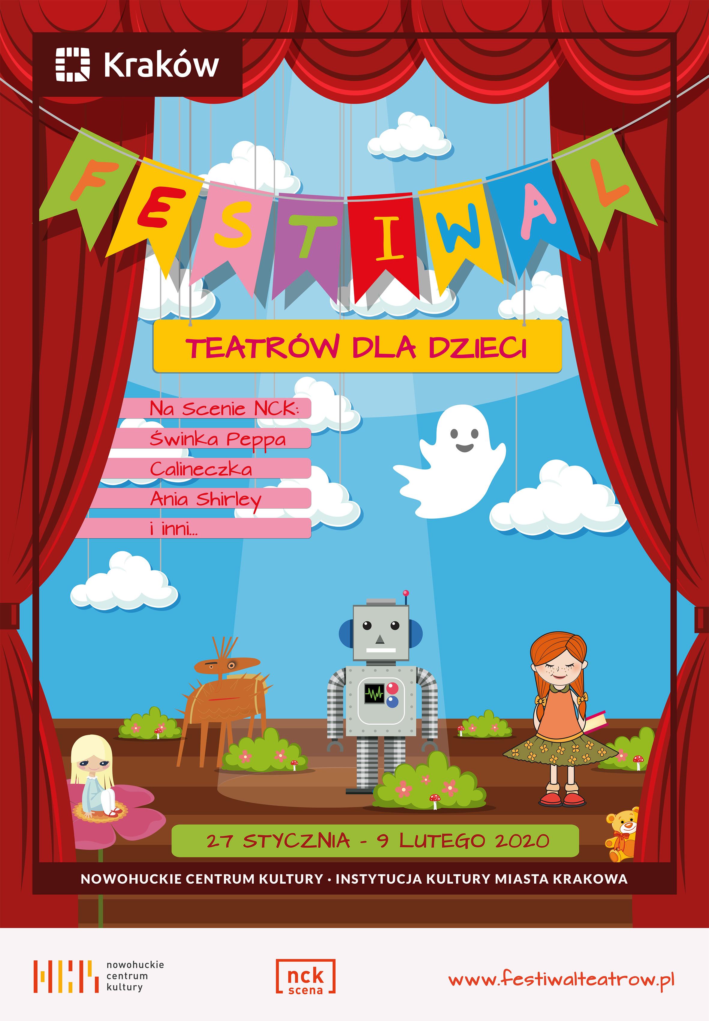 Festiwal Teatrów dla Dzieci w NCK - teatralne święto dla młodych widzów!