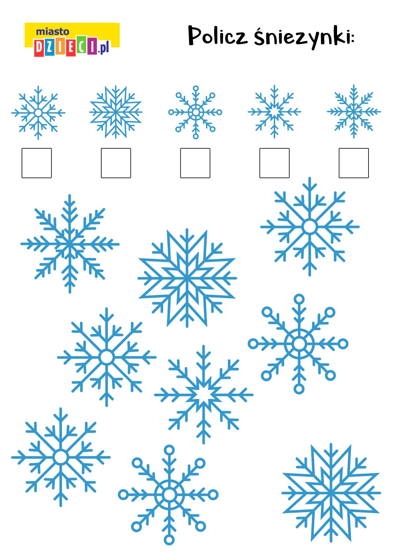 Zagada matematyczna do druku dla dzieci