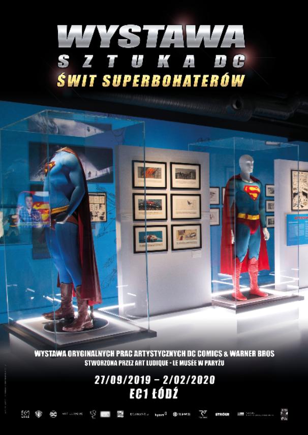 Wystawa o superbohaterach w Łodzi