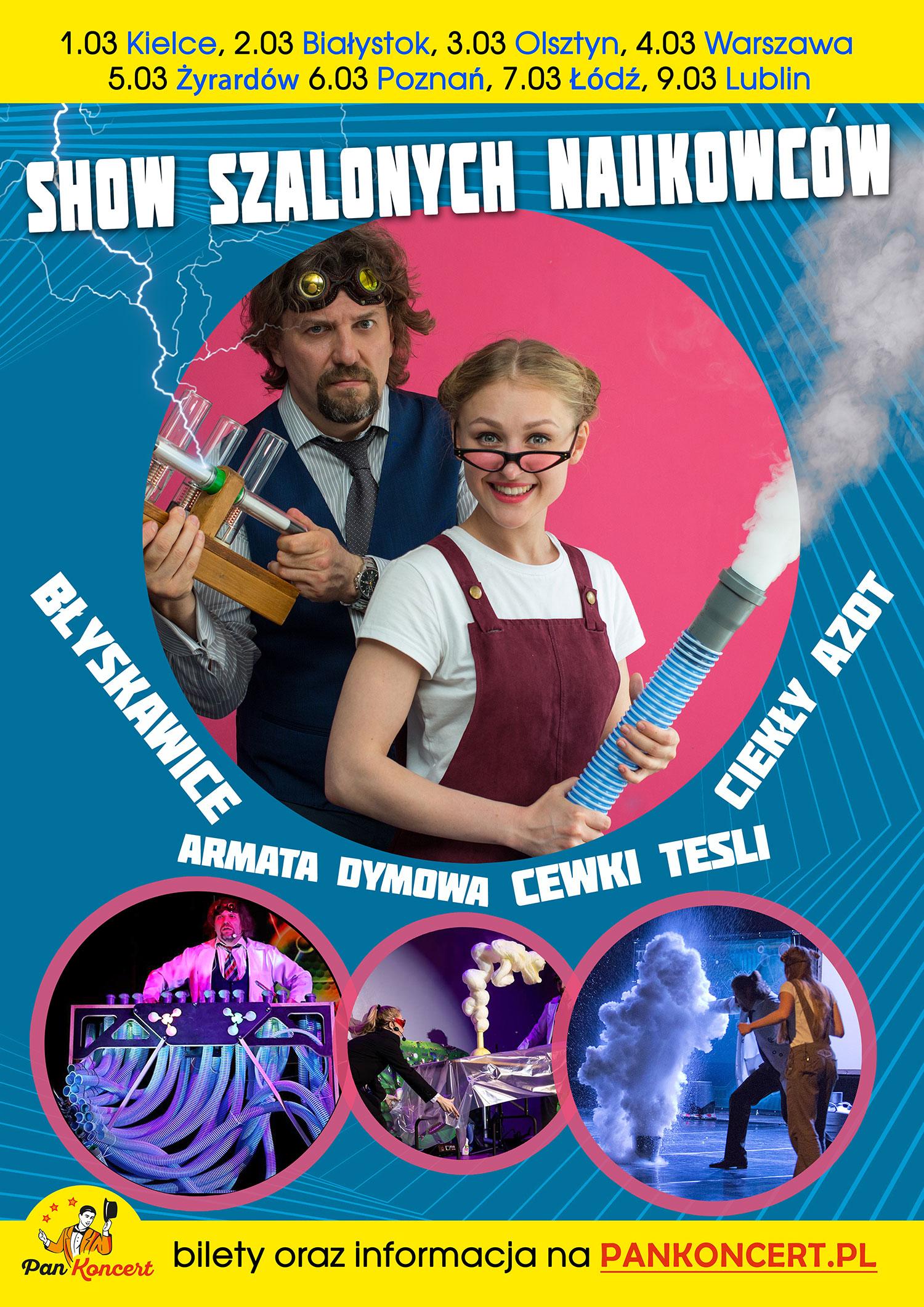 Show Szalonych Naukowców 2020