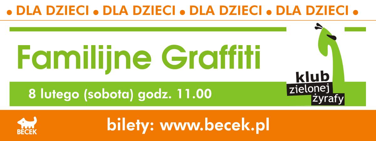 Klub Zielonej Żyrafy - warsztaty Familijne Graffiti. Bytom